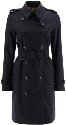 Burberry The Kensington Midi Trench Coat