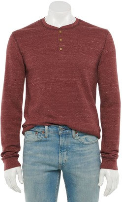Sonoma Goods For Life Men's Supersoft Thermal Henley in Regular and Slim Fit