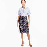J.Crew Skirt in floral jacquard