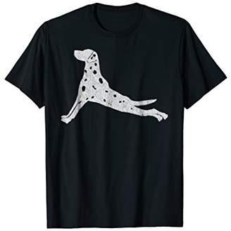 Retro Dalmatian Yoga T-Shirt