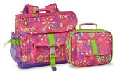 Bixbee Girl's 'Butterfly Garden' Backpack & Lunchbox - Pink