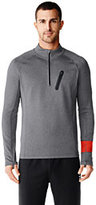 Lands' End Men's Speed Half-zip Pullover-Zesty Orange