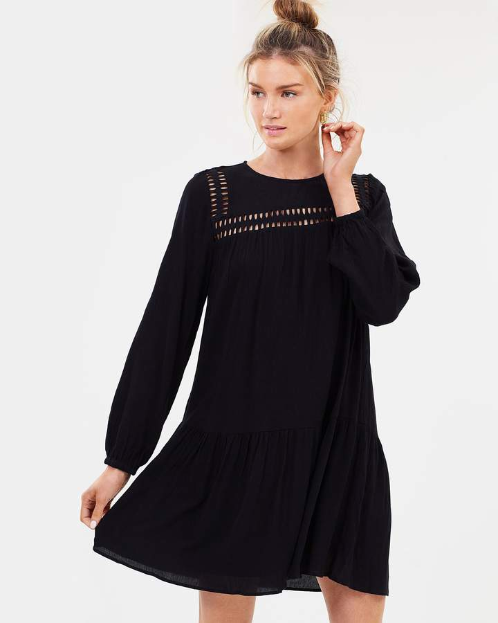 DECJUBA Regan Lace Trim Dress
