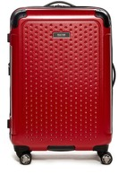 "Kenneth Cole Reaction 24"" Embossed Dot Hardside Upright Suitcase"