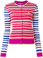 Kenzo striped Tiger cardigan