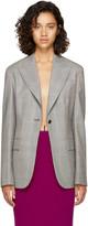 Calvin Klein Grey Glen Check Blazer