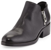 Phillip Lim Alexa Side-Zip Ankle Bootie, Black