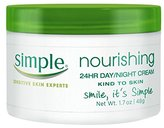 Simple Kind to Skin Cream, Nourishing 24 Hour Day and Night 1.7 oz