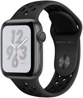 Apple Watch Nike+ Series 4 (GPS), 40mm Space Grey Aluminium Case With Anthracite/Black Nike Sport Band