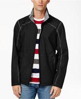 Point Zero Men's Reversible Full-Zip Weatherproof Stand-Collar Jacket