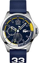 Lacoste Men's Blue Silicon Strap Watch