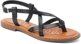 Musse & Cloud Women's Sandals NBK - Black Strappy Iron Leather Sandal - Women