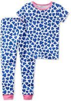 Carter's 2-Pc. Heart-Print Cotton Pajamas, Little Girls & Big Girls