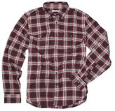 7 For All Mankind Men's Plaid Oxford Woven Shirt
