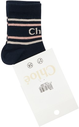 Chloé Knit Cotton Socks