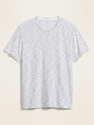 Old Navy Soft-Washed Striped Slub-Knit Tee for Men