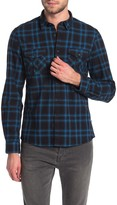 Civil Society Brighton Brushed Flannel Plaid Regular Fit Shirt