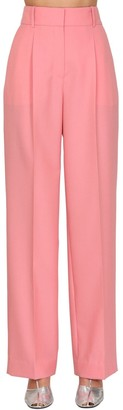 Givenchy Summer Wide Leg Wool Pants