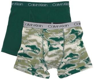 Calvin Klein Cotton Boxer Briefs - Pack of 2