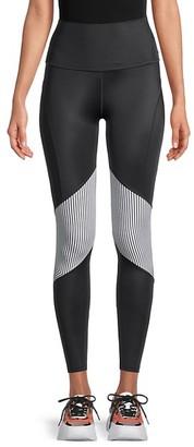Wear It To Heart Jaxon High-Waist Striped Leggings