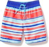 Old Navy Striped Swim Trunks for Toddler Boys
