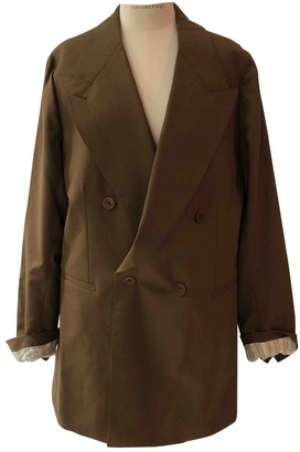 Giuliva Heritage Collection Brown Wool Jacket for Women
