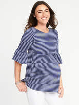 Old Navy Maternity Cinched-Waist Crinkle-Jersey Top