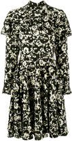 Valentino ruffled floral dress - women - Silk - 36