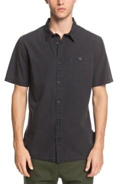Quiksilver Men's Taxer Wash Short Sleeve Woven Shirt