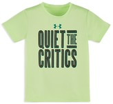Under Armour Boys' Quiet The Critics Tech Tee - Sizes 2-7