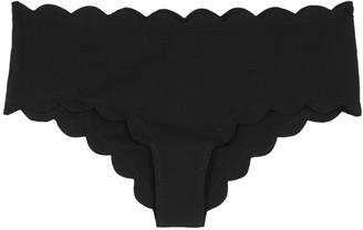 Marysia Swim Spring scalloped bikini briefs