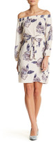 Blvd Floral Blouson Shift Dress
