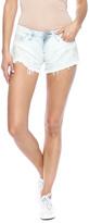 Blank Stripe Cutoff Shorts