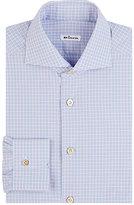 Kiton Men's Checked Shirt-PINK