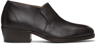 Lemaire Brown Low Loafers