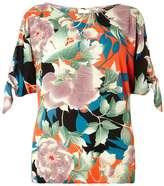 Dorothy Perkins Oriental Tie Sleeve Top