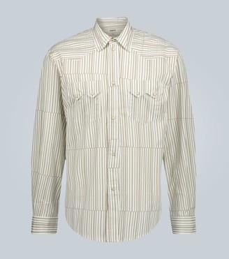 Phipps Rockhound Tectonic stripe shirt