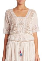 LOVESHACKFANCY Jane Lace Top