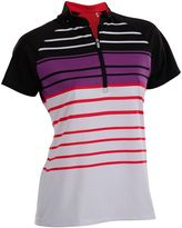 Women's Nancy Lopez Point Short Sleeve Golf Polo