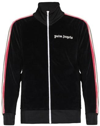 Palm Angels Contrast Stripe Track Jacket