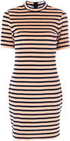 Alexander Wang striped dress - women - Cotton/Polyester - S