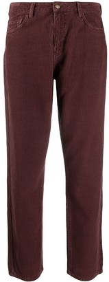 BA&SH Cropped Straight-Leg Corduroy Trousers
