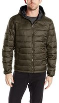 Levi's Men's Nylon Lightweight Hooded Puffer Jacket