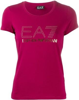 EA7 Emporio Armani logo-print T-shirt