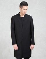 Lad Musician Wool Gabardine Long Coat