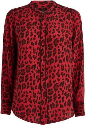 Rails Lillian Leopard Print Shirt