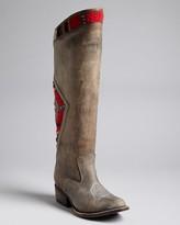 Freebird by Steven Tall Western Boots - Aztek