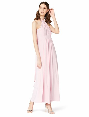 TRUTH & FABLE Women's Maxi Halter Dress