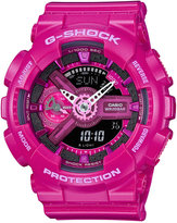 G-Shock Women's Analog-Digital Dark Pink Bracelet Watch 49x46mm GMAS110MP-4A3