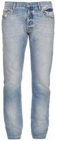 Valentino Rockstud-trimmed Slim-fit Jeans